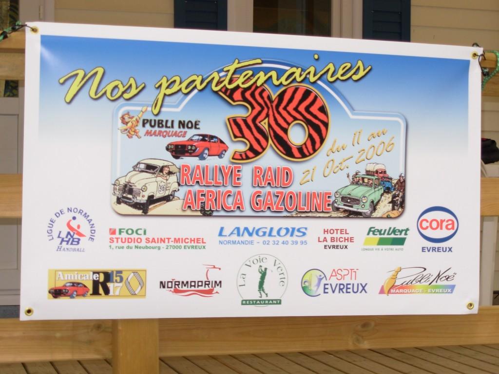 Rallye Raid Africa Gazoline 2006 10-oct-1